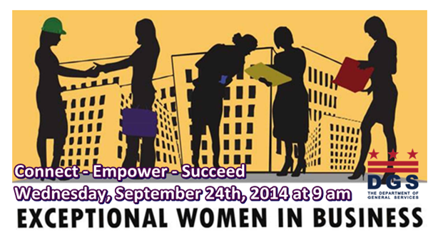 Exceptional Women in Business September 24, 2014