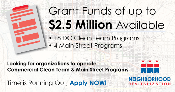 Grant Funds available!