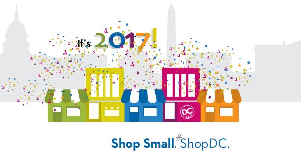 It's 2017! Shop Small. Shop DC.