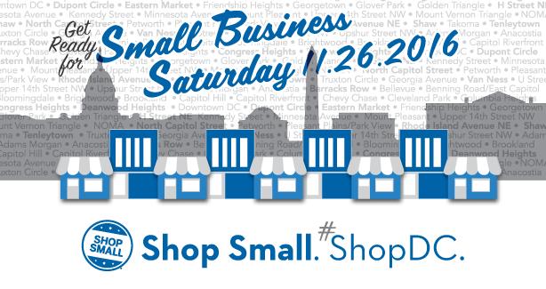 Small Business Saturday, November 26, 2016