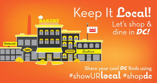 ShopDC: Show your local, let's shop and dine in DC!