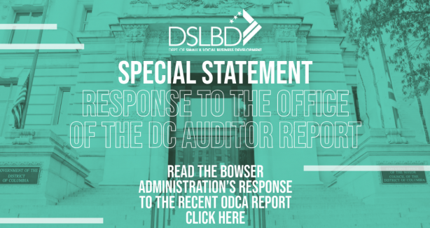 Response To The Office Of The DC Auditor Report - Graphic