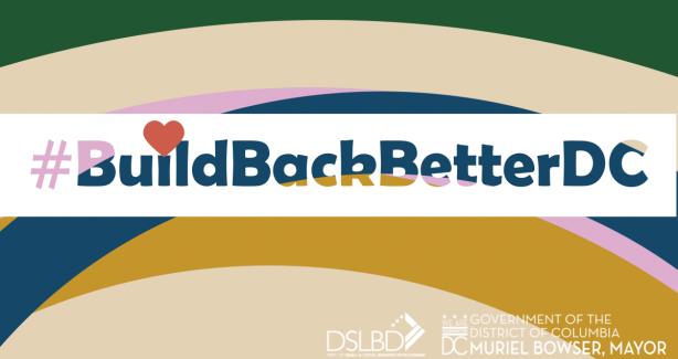 DSLBD Build Back Better Video Series