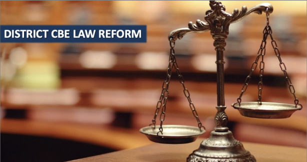 District CBE Law Reform