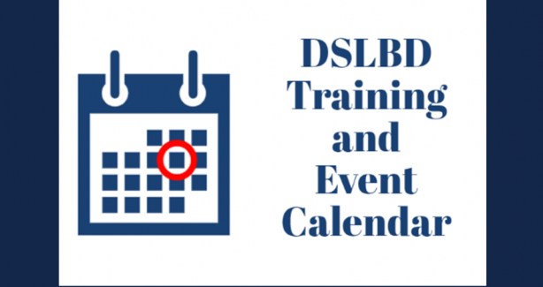 DSLBD Training and Event Calendar