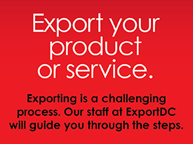 Exporting with ExportDC