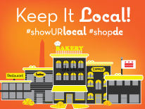 Keep It Local #ShowURLocal #ShopDC